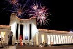 Aerial Fireworks Display at Hall of State